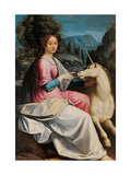 Lady and the Unicorn (probably Giulia Farnese)