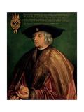 Portrait of Emperor Maximilian I