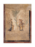 Love Punished (Loves of Mars and Venus)  Roman Painting  1st c Naples  Italy