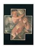 Putti carrying Mitre