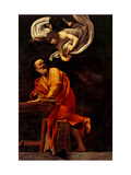 St Matthew and the Angel  by Caravaggio  1602 San Luigi dei Francesi Church  Rome  Italy