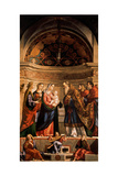 Presentation of Jesus in the Temple  by Vittore Carpaccio  1510 Accademia  Venice  Italy