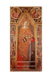 St Catherine of Alexandria with donors