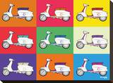 Lambretta Pop Art