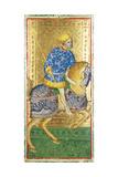 Knight of Spades  Tarot Card