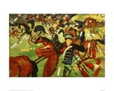Hussars on Horseback
