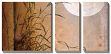 Lakeside Moonrise Tableau multi toiles par Don Li-Leger