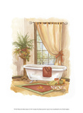 Watercolor Bath in Spice II