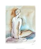 Watercolor Gesture Study I