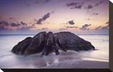 Rock at the Anse Source d'Argent beach  La Digue Island  Seychelles