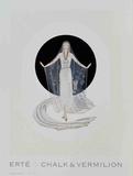 Veil Gown Reproduction pour collectionneurs par Erté