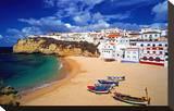View of Carvoeiro  Algarve  Portugal