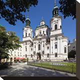 St Nicholas Church on the Old Town Square  Prague  Central Bohemia  Czech Republic