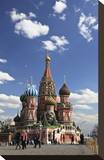 St Basil's Cathedral on the Red Square  Moscow  Russia