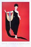 Glamour Reproduction pour collectionneurs par Erté
