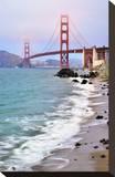 San Francisco Bay and Golden Gate Bridge  San Francisco  California  USA