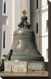 The Tsar Bell at the Cathedral Square on the grounds of the Moscow Kremlin  Moscow  Russia