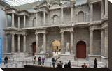 Roman Market Gate of Miletus at the Pergamon Museum  Museum Island  Berlin  Germany