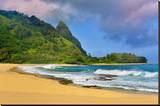 Tunnels Beach  Island of Kauai  Hawaii  USA
