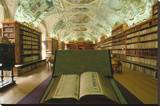 Theological library  Strahov Abbey  Prague  Central Bohemia  Czech Republic