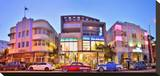 The Marlin and The Webster Hotel on Collins Avenue  Miami Beach in Miami  Florida  USA
