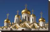 The Cathedral of the Annunciation in the Moscow Kremlin  Moscow  Russia