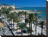 Seaside Promenade Sitges Spain