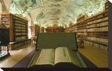 Theological library  Strahov Abbey  Prague  Central Bohemia  Czech Republic