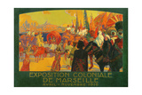 The National Colonial Exhibition  Marseille  April-November 1916  1922