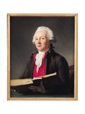Portrait of Dazincourt (1747-1809) 1792