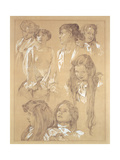 Study for Plate 17 from 'Documents Decoratifs'  1902