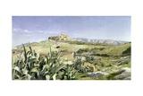 View Towards the Acropolis  1893