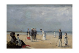 A Game of Croquet  1872