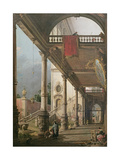 Capriccio of a Colonnade  1765