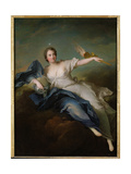 Portrait of Marie-Anne De Mailly-Nesle (1717-44) Marquise of La Tournelle as Eos  after 1740