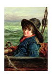 Young Fisher Boy  c1862