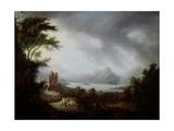 A Stormy Highland Scene