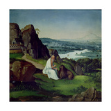 St Jerome in a Landscape