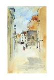 Street Scene  c1888