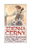 Zdenka Cerny  the Greatest Bohemian Violoncellist  1913