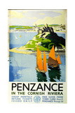Penzance in the Cornish Riviera  c1935