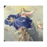 The Assumption of the Virgin  c1656 (Detail)