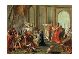 Crassus Ransacks the Temple of Jerusalem  1743