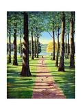 Stroll in Richmond Park  1995
