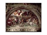 Pope Leo I (C390-461) Repulsing Attila (C406-453) 1511-14