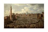 The Palio  Piazza Del Campo  Siena