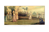 Cricket Match Played by the Countess of Derby and Other Ladies  1779