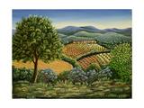 Tuscan Hilltop Village  1990