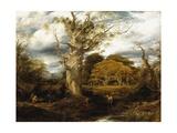 A Wood Scene  1844