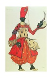 Eunuch Costume from 'Scheherazade' by Rimsky-Korsakov (Design)